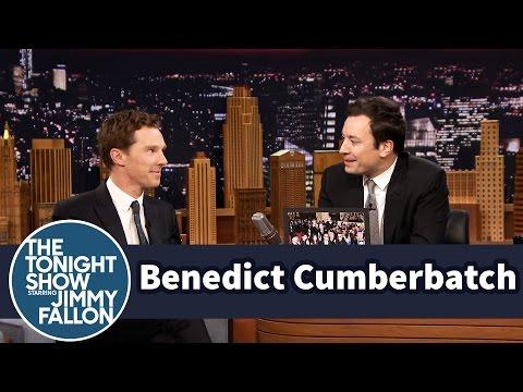 Benedict Cumberbatch Photobombed U2 for a Friend (видео)