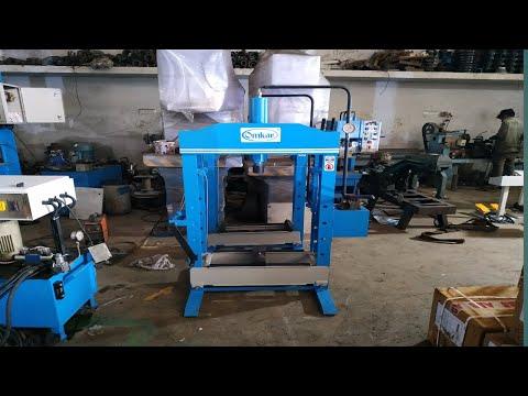 25 Ton Hydraulic Hand Operated Press Machine