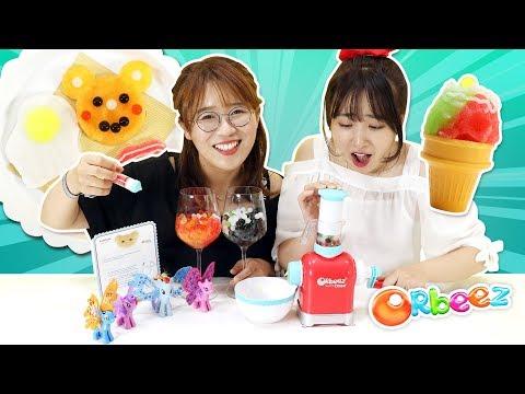 水晶寶寶大廚orbeez chef手工玩具!來用海洋寶寶做豐盛美食大餐吧!小伶玩具 | Xiaoling toys