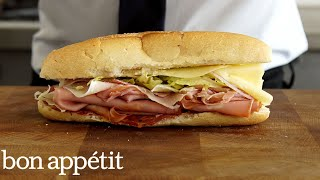 The Ultimate Delicious Hero Is All In The Assembly | Bon Appetit - dooclip.me