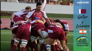 Asia Rugby Championship Div 3 west Qatar vs Lebanon Live
