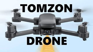 Tomzon D30 GPS Drone with 4K Camera 5G FPV Drone Easy to Fly Foldable RC Quadcopter Optical Flow
