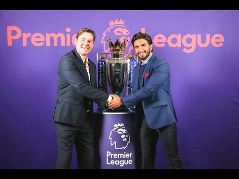 Arsenal Fan Ranveer Singh Is New Ambassador Of Premier League