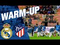 Real Madrid's warm-up ahead of the Super Cup final against Atleti!
