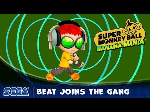 Beat Joins the Gang de Super Monkey Ball: Banana Mania