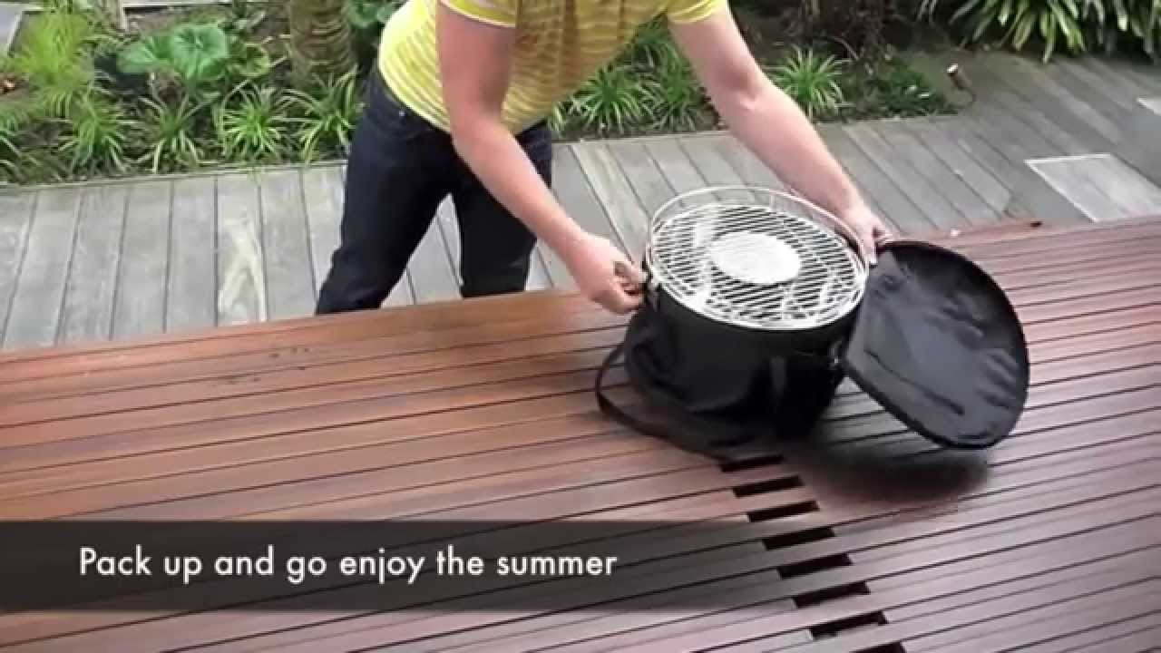 Stainless Steel Lotus Grill BBQ with Free Fire Lighter Gel & Charcoal