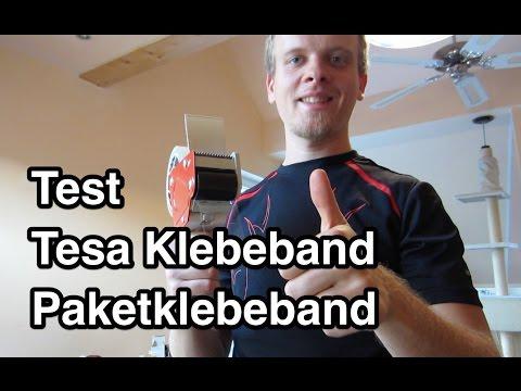 Test Tesa Tesapack Klebeband | Paketklebeband | Packband Test | Tesafilm Test