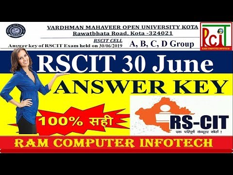 Download Rscit Exam Mcq In Hindi 2018 Most Important Mcq In Hindi