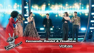 "Fernando Daniel & Finalistas - ""Voltas"" 