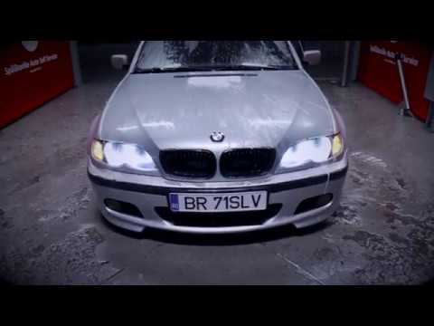 BMW E46 325i on 19'' wheels and airride