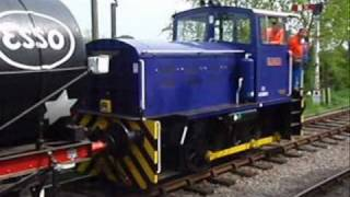 preview picture of video 'Swindon & Cricklade Railway Shunters & Wheeltappers Weekend'