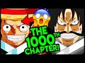 Luffy is a 𝕗*𝕔𝕜𝕚𝕟𝕘 LEGEND! One Piece Chapter 1000!
