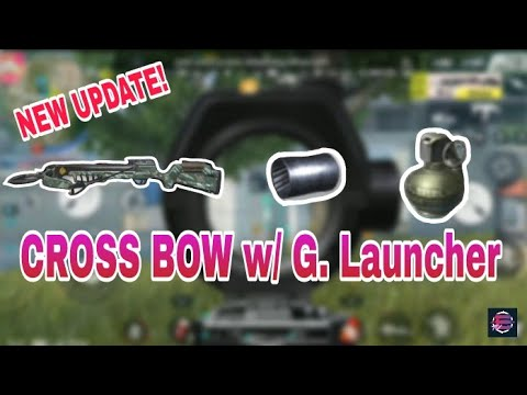 How to Use Cross Bow w/ Grenade Launcher |NEW UPDATE|R.O.S|Mobile|