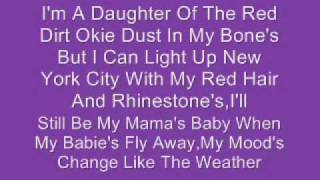 Reba McEntire - All The Woman I Am (Lyrics)
