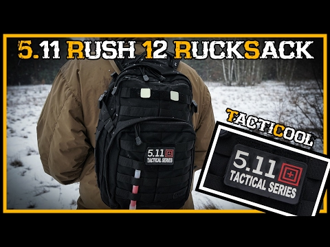 Review: 5.11 Rush 12 Rucksack  - Outdoor Bushcraft Deutschland