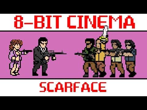 hqdefault - Scarface, contada al estilo retro 8-Bit