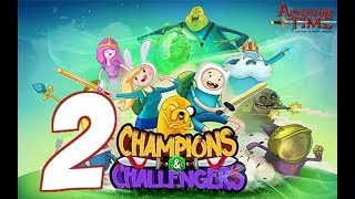 Champions & Challengers: Adventure Time - Gameplay Walkthrough Part 2 iOS / Android - Episode 1