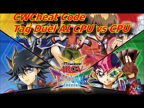Yu-Gi-Oh! Arc-V Tag Force Special CwCheats for PSP