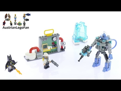 Vidéo LEGO The Batman Movie 70901 : L'attaque glacée de Mister Freeze
