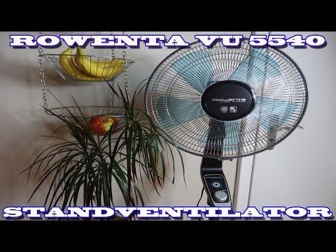 """""""ROWENTA VU 5540 STANDVENTILATOR SUPER SILENT"""" -Vorstellung"""