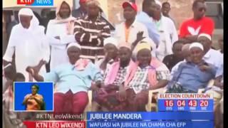 Jubilee Mandera : Wafuasi wa jubilee na EFP wakabiliana