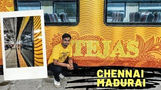 Tejas Express Chennai to Madurai full journey