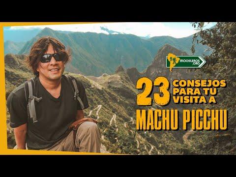 MACHU PICCHU: No Viajes Sin Ver Estos Consejos Mochileros - PERÚ