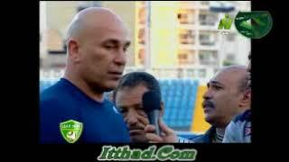 ابراهيم حسن يعترض على حكم مباراة المقاولون لعدم احتسابه هدف صحيح موسم 2014-2015
