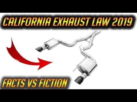 California Exhaust LAW UPDATE