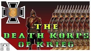 40k Lore, The Death Korps of Krieg!