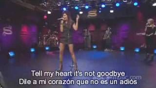 Ashley Tisdale - Tell Me Lies (Live AOL Sessions)+Lirycs (Ingles+Español)+HD