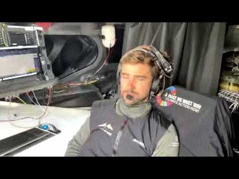 VENDÉE GLOBE 2020 - Boris Herrmann explains about the search for Kevin Escoffier