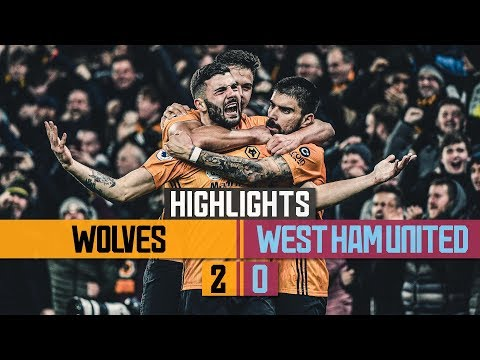 Dendoncker & Cutrone see off the Hammers   Wolves 2-0 West Ham United   Highlights