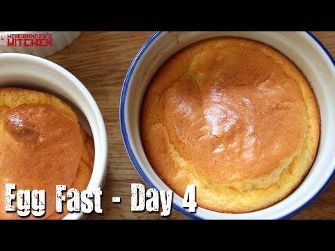 Keto Egg Fast - Day 4 - Keto Cheese Souffle | Headbanger's Kitchen | Keto Vlog