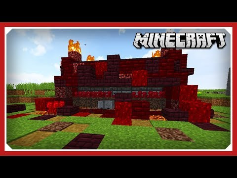 Minecraft: Simple And Efficient Nether Wart Farm Tutorial