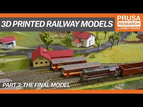 3D printed railway models, part III: The final model
