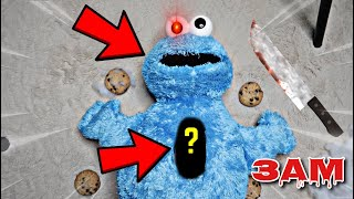 DO NOT CUT OPEN COOKIE MONSTER AT 3AM!! *WHAT'S INSIDE HAUNTED COOKIE MONSTER*