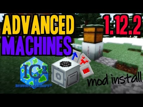 ADVANCED MACHINES MOD 1 12 2 minecraft - how to download and install
