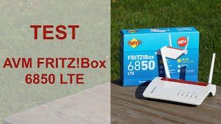 Test: AVM Fritzbox 6850 LTE Router