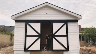 Shop Build - Barn Doors