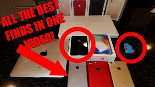 Found iPhone X, iPhone 7's, iPhone 6's, iPads, Apple Watches + MORE! Dumpster Diving Apple Store!