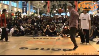 preview picture of video 'Break Dance Battle ALMATY B-BOY SESSION 2009 (A.B.S.)  Final 2x2'