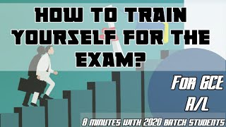 How to face exam? #for GCE A/L