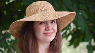 How To Crochet Summer Hat   Part 1