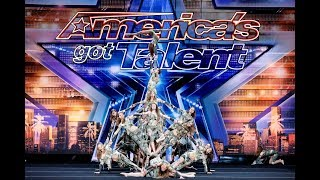 """GOLDEN BUZZER"" Dance Group Zurcaroh Stun Judges on America"