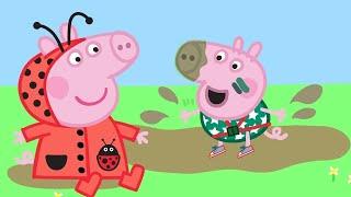 Peppa Pig English Episodes | Peppa Pig Loves Muddy Puddles! | Peppa Pig Official