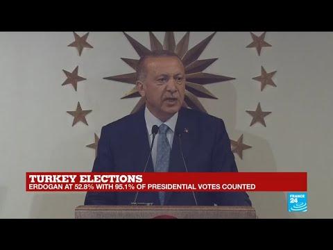 Recep Tayyip Erdogan declares victory: