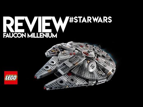 Vidéo LEGO Star Wars 75257 : Faucon Millenium