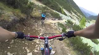 preview picture of video 'Mountainbiking in Livigno 2013'