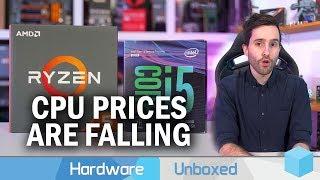 News Corner | Intel and Ryzen CPU Pricing Update, 2.2 GHz Navi Overclocks